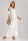 Biała Sukienka Synasea