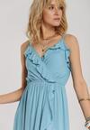 Niebieska Sukienka Sireifer