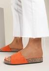 Pomarańczowe Klapki Anadenah
