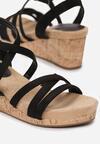 Czarne Sandały Alulla