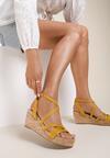 Żółte Sandały Alulla