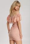 Łososiowa Sukienka Rairia