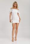 Biała Sukienka Rairia