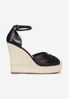 Czarne Sandały Cherimala