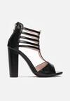 Czarne Sandały Ianathei
