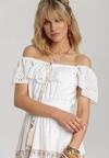 Biała Sukienka Callileia