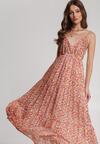 Pomarańczowa Sukienka Ilenome