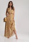Żółta Sukienka Pasiles