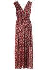 Czerwona Sukienka Pasiles