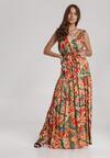 Pomarańczowa Sukienka Calophonos
