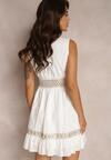 Biała Sukienka Poreilyse