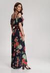 Granatowa Sukienka Phiamisia