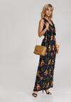 Granatowa Sukienka Assalla