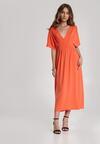Pomarańczowa Sukienka Perinome