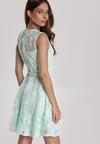 Miętowa Sukienka Limoteia