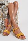 Żółte Sandały Himia