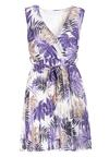Biało-Fioletowa Sukienka Echipheia
