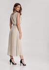 Beżowa Sukienka Laolinai