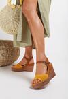 Żółte Sandały Ategenia