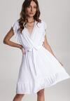 Biała Sukienka Heliris