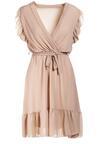 Beżowa Sukienka Heliris