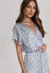 Niebieska Sukienka Amanohre