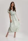 Zielona Sukienka Amanohre