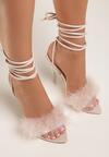 Beżowe Sandały Laraireida