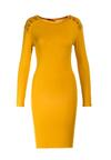 Żółta Sukienka Echonne