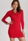 Czerwona Sukienka Daphpeia
