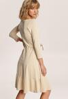 Jasnobeżowa Sukienka Echirose
