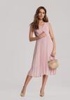 Różowa Sukienka Corimis