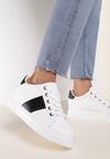 Biało-Czarne Sneakersy Arrivien