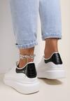 Bialo-Czarne Sneakersy Daphicea