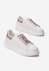 Biale Sneakersy Daphicea