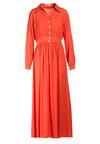 Pomarańczowa Sukienka Himepeia