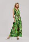 Zielona Sukienka Arriwen