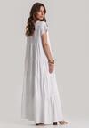 Biała Sukienka Calicine