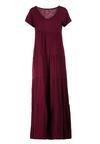 Ciemnofioletowa Sukienka Calicine