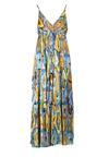 Niebieska Sukienka Cirinia