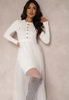 Biała Sukienka Thenella