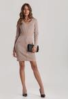 Różowa Sukienka Melinope