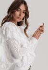 Biała Bluzka Pasiris