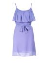 Niebieska Sukienka Nahlyn