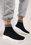 Czarne Sneakersy Feloria