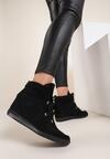 Czarne Sneakersy Mhyreth