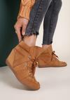 Camelowe Sneakersy Mhyreth