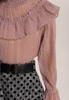 Ciemnoróżowa Bluzka Morerose