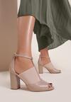 Beżowe Sandały Lilise