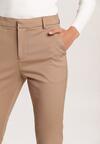 Beżowe Spodnie Eupherelia